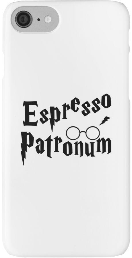 Espresso Patronum Potter Head by RoxanneVarza