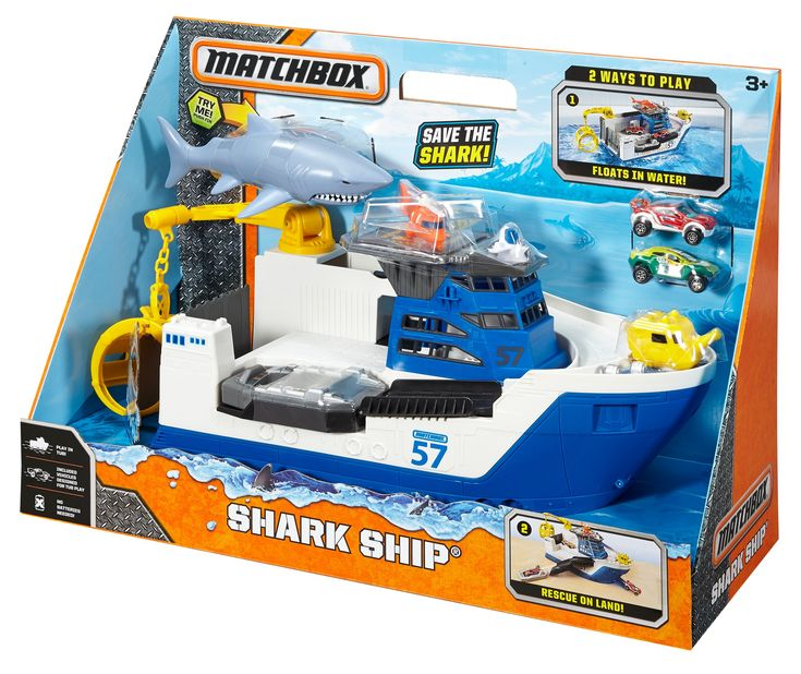 Matchbox Shark Ship was $39.97, NOW $19.97!!