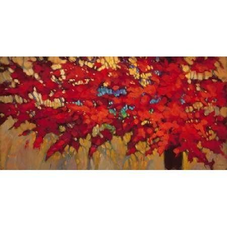 Autumn Light Canvas Art - J Charles (24 x 48)