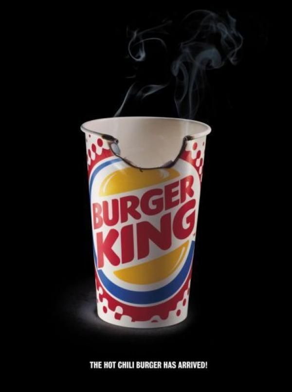 "burger king itll blow your mind A la vez el texto ""it'll blow your mind away"" nos ""deja volar nuestra  jugoso y  asado a la parrilla con el nuevo bk super de siete pulgadas."