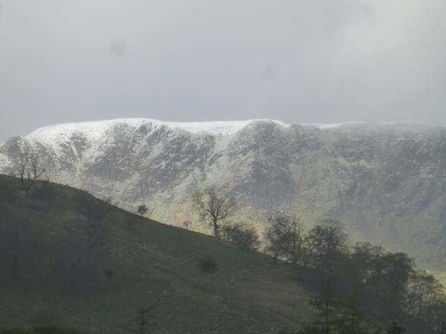 Fresh Snow on Helvellyn - May 2013 - a little late in the year!