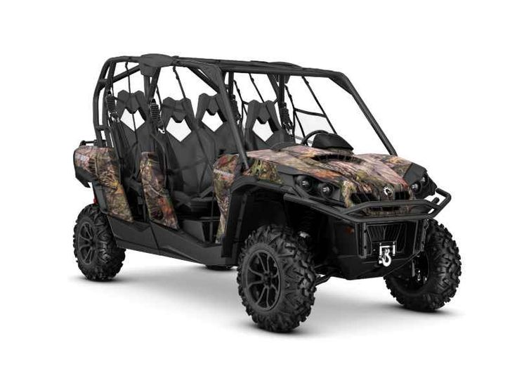 New 2016 Can-Am Commander MAX XT 1000 Mossy Oak Break-Up ATVs For Sale in Georgia. 2016 Can-Am Commander MAX XT 1000 Mossy Oak Break-Up Country Camo, 2016 Can-Am Commander Max XT 1000 Mossy Oak Break-Up Country Camo Get equipped for off-road adventure with more standard features and added value. Take advantage of the Can-Am exclusive Tri-Mode Dynamic Power Steering (DPS), a 3,000 lb winch, and heavy-duty front and rear bumpers that are ready to take on every adventure. Features May Include…