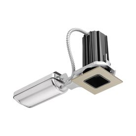Juno Downlights Satin Nickel Integrated Remodel And New Construction Recessed Light Kit (Fits Opening: 2-In) 2Sq-927S1-B