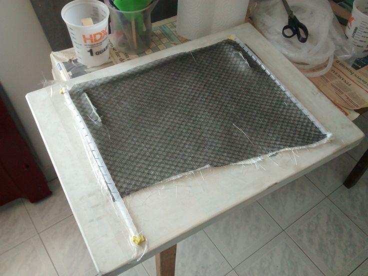 Ubicación de la malla y espiras de transferencia de resina. Para mayor información, visita: www.carbonlabstore.com