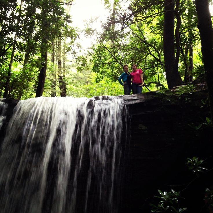 Ride Royal Blue.. we took pics at this waterfall!