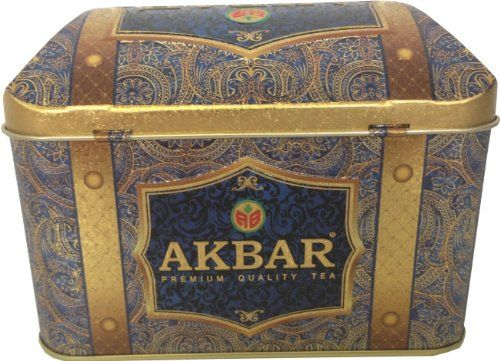 Akbar Tea Gourmet Gift Tin Box 250 G Orient Mystery - http://teacoffeestore.com/akbar-tea-gourmet-gift-tin-box-250-g-orient-mystery/