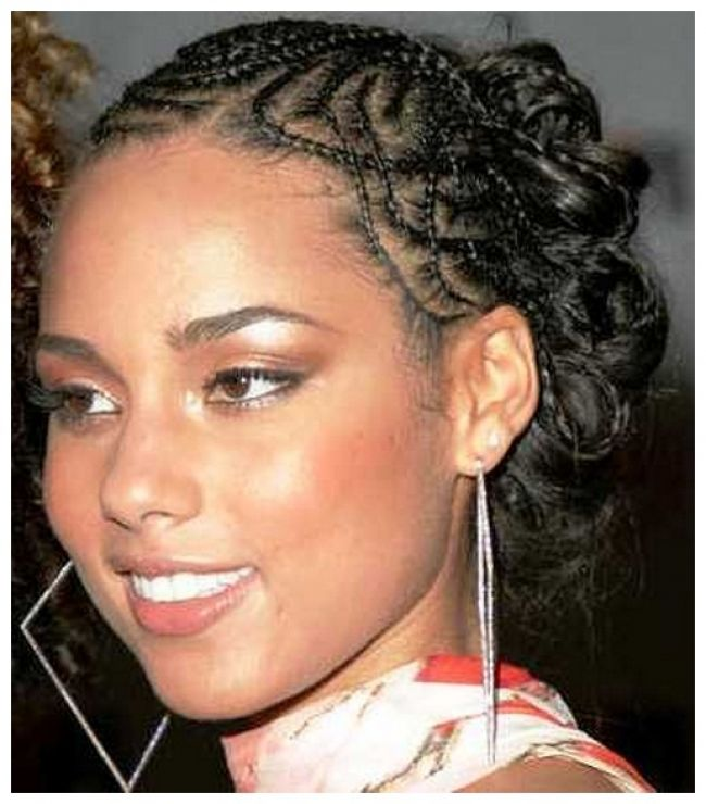 Alicia Keys Braided Hairstyles Pictures Hair Styles And Haircut Braids Hairstyles Pictures Hair Styles Alicia Keys Braids