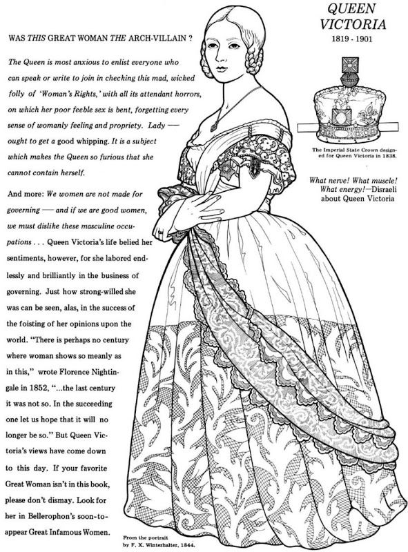 Coloring Pages Queen Victoria : Best images about paper dolls on pinterest sandra dee