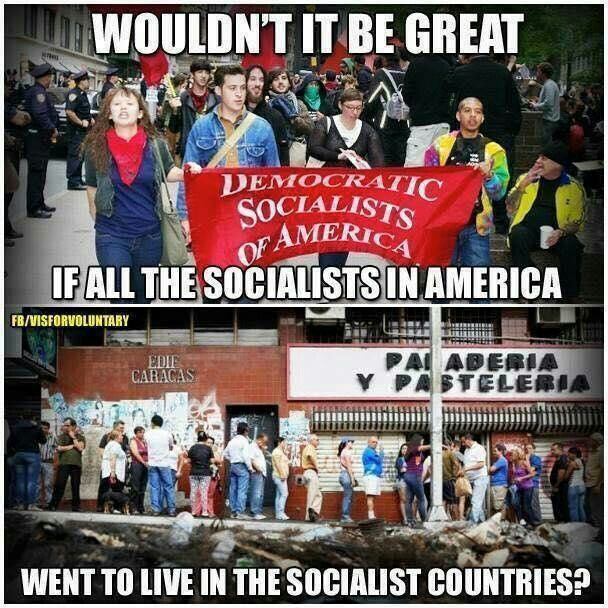 Democratic Socialist? that appears to be a oxymoron there is no democracy in a socialist state!