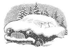 car in snow 2