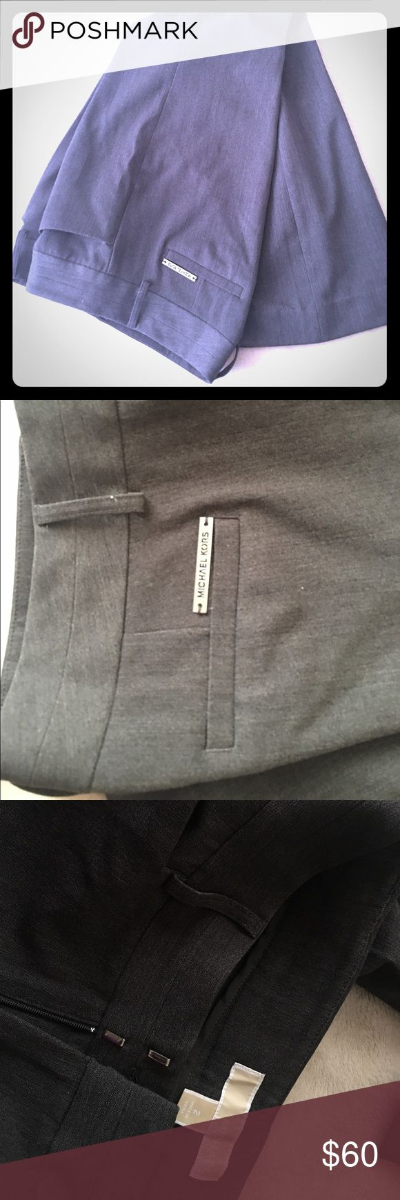 🆕 Michael Kors gray pant Perfect for work gray pant the excellent material with tags and bag from the store MK  plus 🆓 gift 🎁 for your purchase ❤️📲📦 MICHAEL Michael Kors Pants Ankle & Cropped