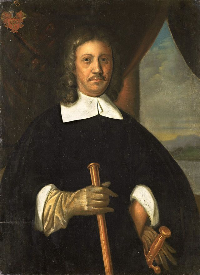 Jacob van Riebeeck, founder and first govenor (commandeur) of the Dutch Cape Kolony