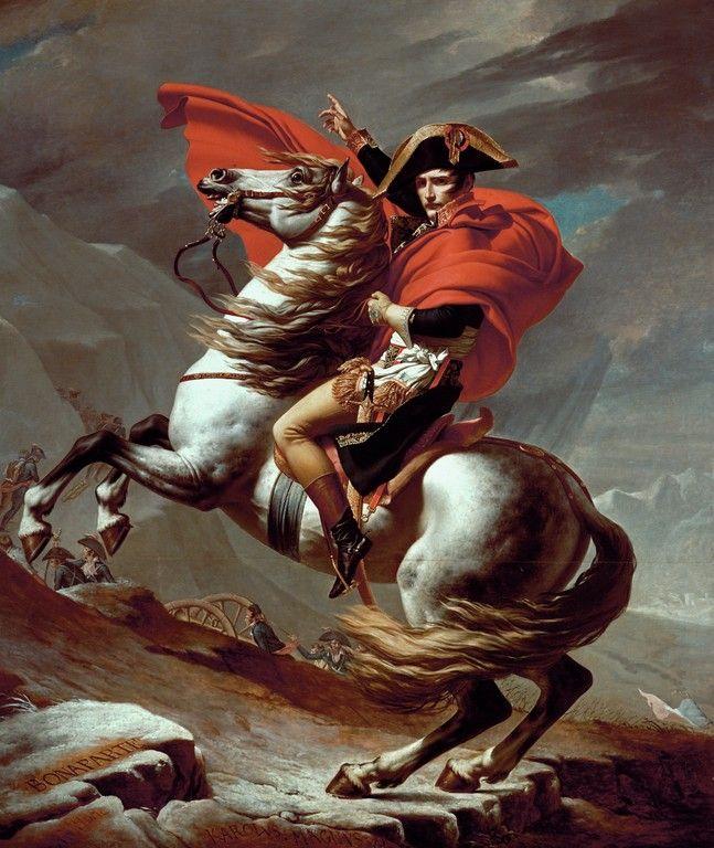 David napoleon - Jacques-Louis David - Wikimedia Commons