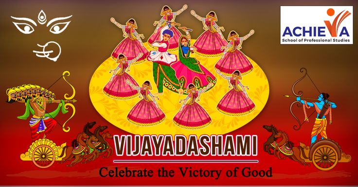 Triumph in the Path of Righteousness!Happy Vijayadashami! Visit us @ http://amp.gs/lk7B #Vijayadashami #Achieva