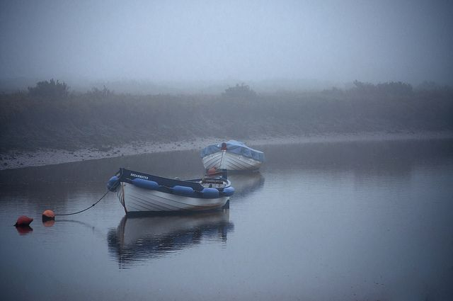 Peaceful morning in Morston on the North Norfolk coast|  Image taken and processed by Milly M