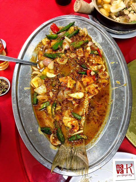 Asam fish - Restoran Makanan Laut Lau Hai Jing - Kampung Jawa (Klang)