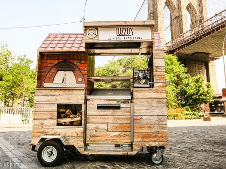 Luzzo's Rolls Out World's Smallest Pizza Cart Tomorrow - Eater NY
