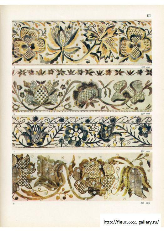 Estonian Folk Art Embroidery patterns