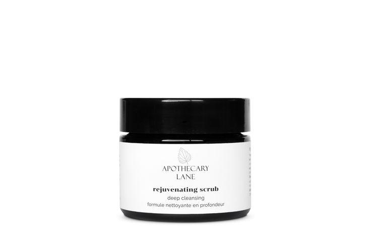 Rejuvenating Scrub—Deep Cleansing helps rejuvenate the skin while removing dead skin cells and unclogging pores.