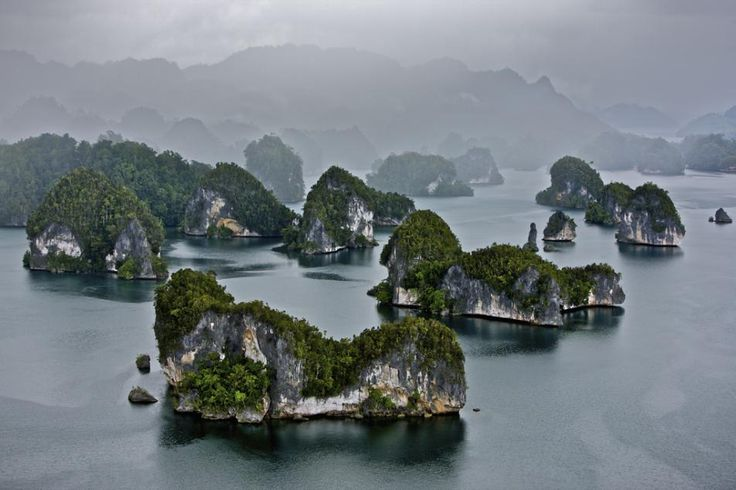 papouasie-occidentale-indonesie; by aerial photographer, Yann Arthus-Bertrand.
