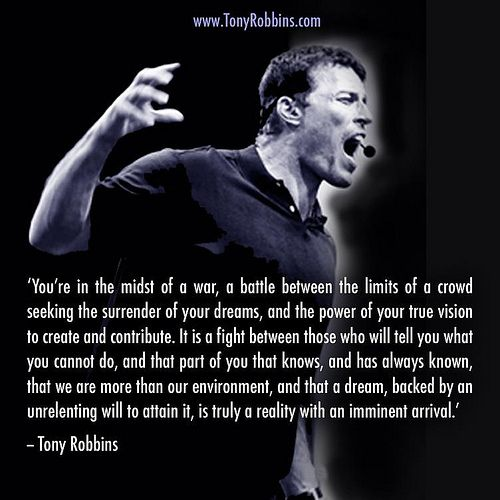 Anthony Robbins Quotes: 25+ Best Ideas About Tony Robbins On Pinterest