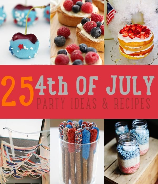4th of july party food recipes