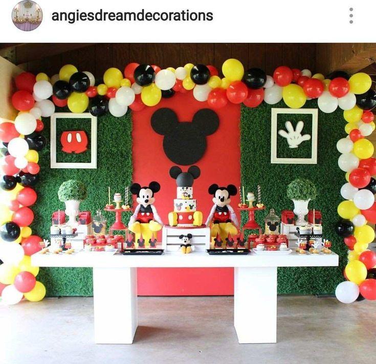 Resultado de imagen para mickey mouse club house birthday decoration