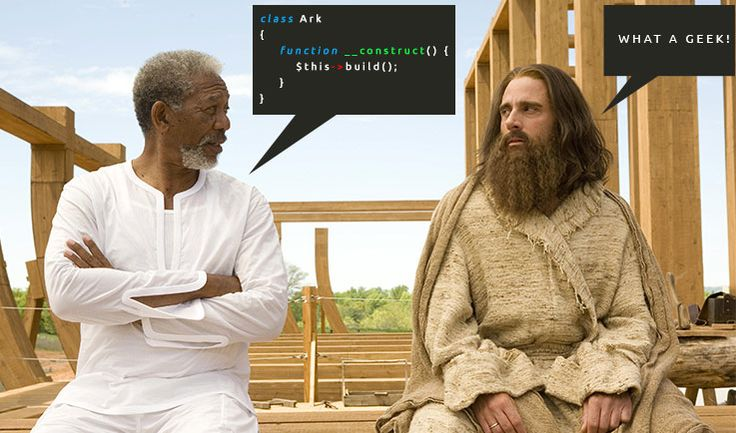 How the Ark was built #php https://www.codepunker.com/smile/noahs-ark-code