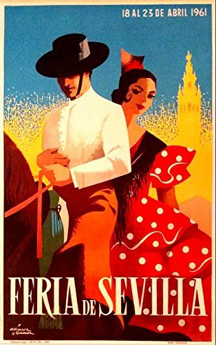 'Feria De Sevilla, 1961' - Wonderful A4 Glossy Art Print ... https://www.amazon.co.uk/dp/B01I0ZBE5Q/ref=cm_sw_r_pi_dp_o7jFxbY1QXY1W