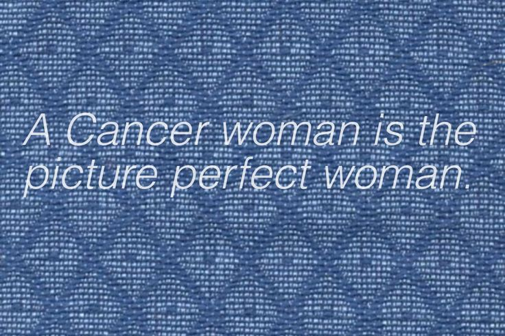 Cancer Zodiac Sign. A Cancer  Woman is the picture perfect woman. Female.