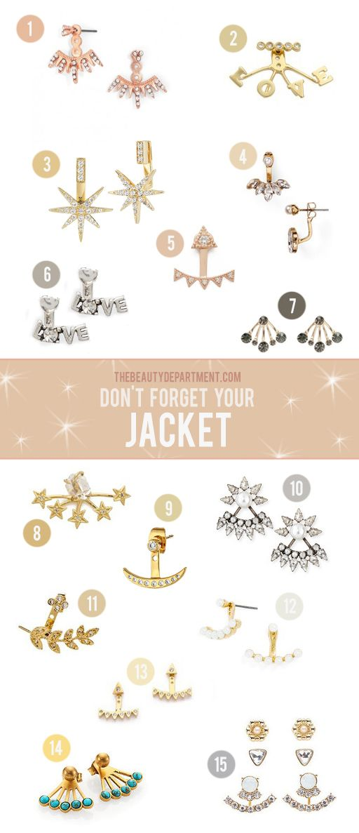 Jewelry isn't typically in our wheelhouse but all this shopping has us feeling very inspired! And if something sparkly on the ear makes your pulled back ponytail look even more chic, then it's our beauty duty to tell you about it. These gems are called ear jackets. Some come with one (meant to be worn with […]