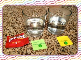 Experiment with Skittles to introduce the scientific method!