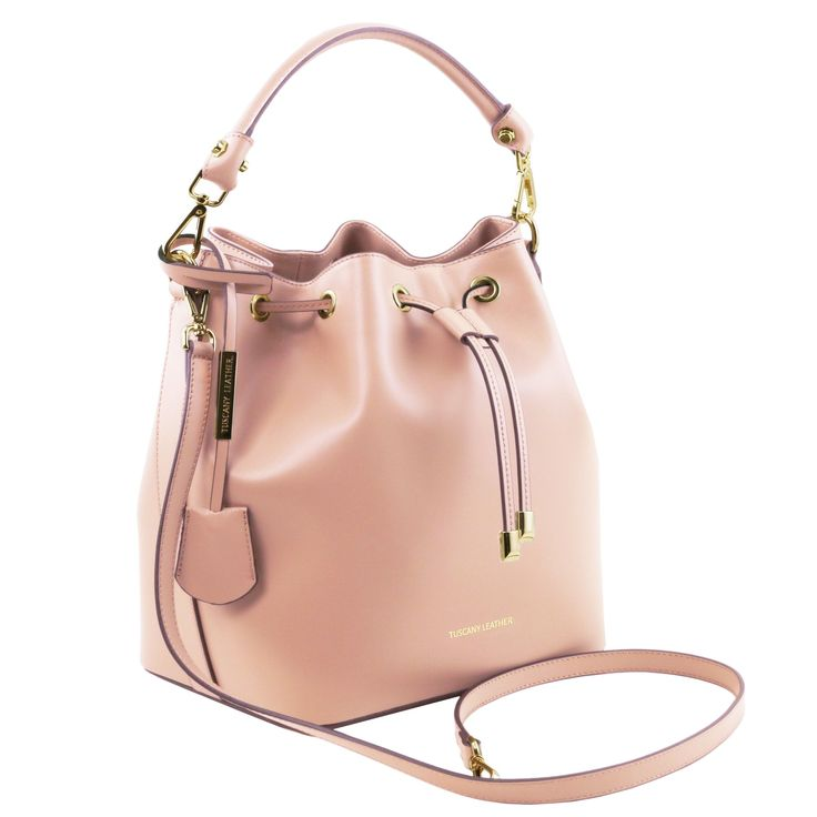 Vittoria - Ruga leather secchiello bag - TL141531 – Rehana.co