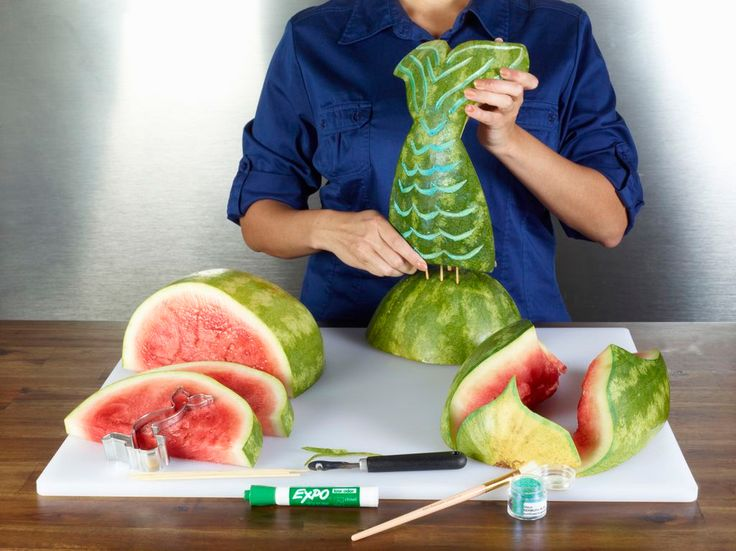National Watermelon Promotion Board | Mermaid Tail