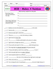 Free Magic School Bus printable worksheets to go along with each episode