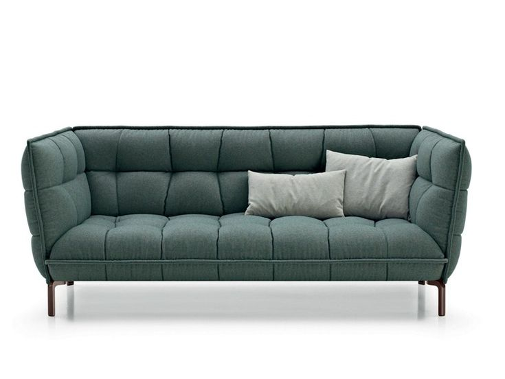 Tufted Fabric Sofa HUSK SOFA By Bu0026B Italia Design Patricia Urquiola