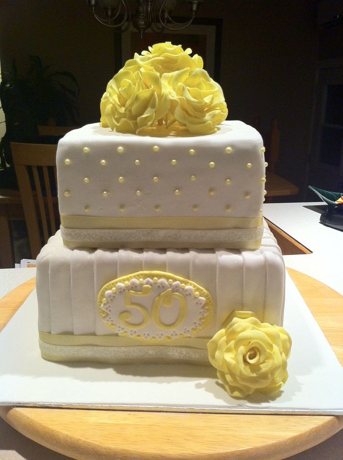 50th Birthday Cakes Elegant 50th Birthday Cake Cakes