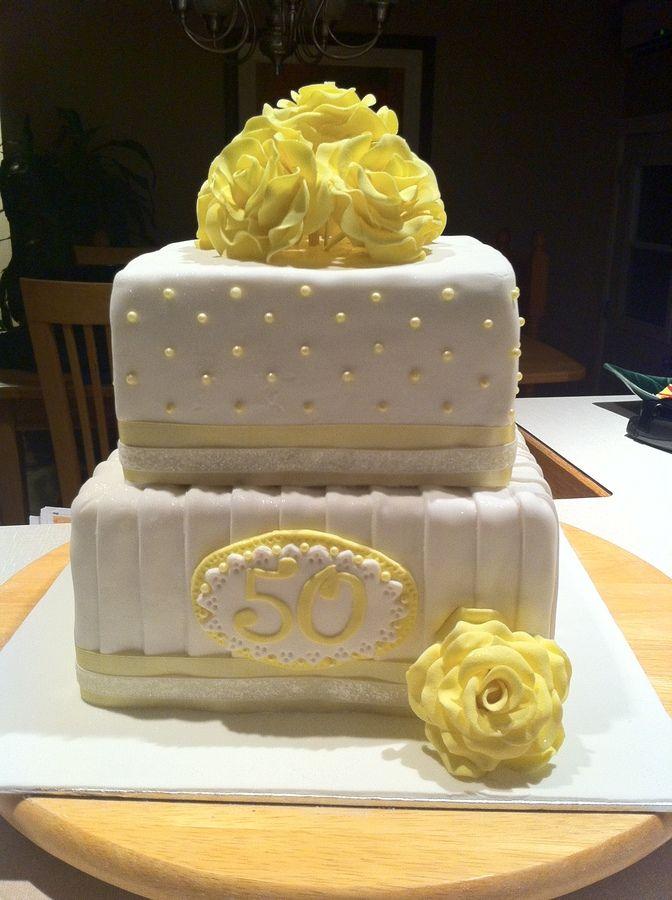 50th Birthday Cakes Elegant 50th Birthday Cake Cakes