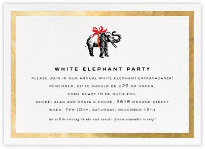Wrapped elephant paperless post · corporate holiday cardspaperless