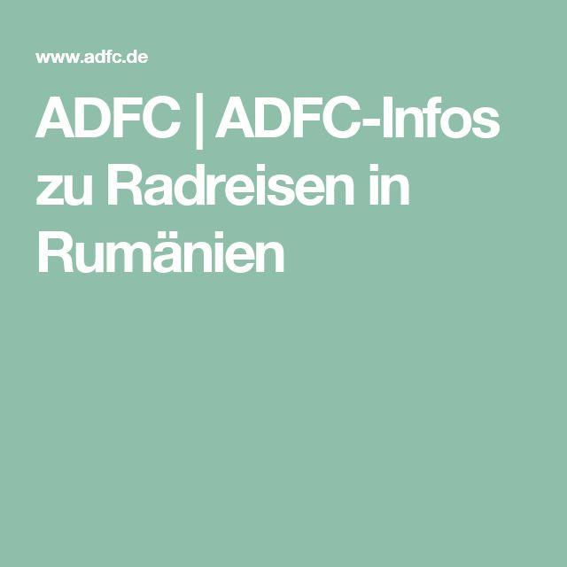 ADFC   ADFC-Infos zu Radreisen in Rumänien