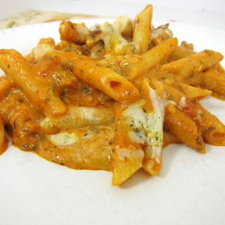 Baked Cream Cheese Penne | Delish | Pinterest