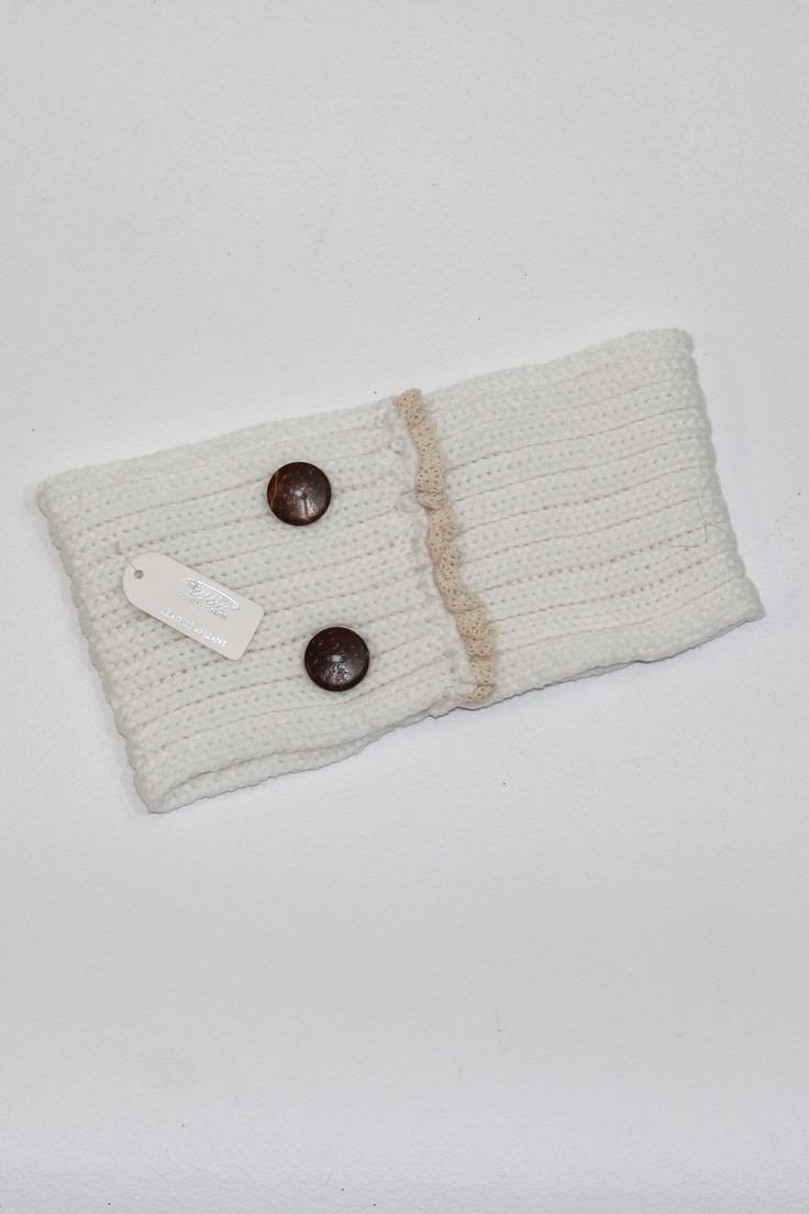 Button that Lace Ear Warmers - The Fair Lady Boutique - 1