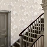 Isodore Dove Grey Floral Wallpaper alternative image