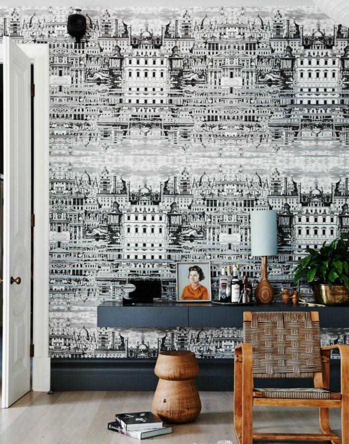 68 best papier peint noir et blanc images on Pinterest | Paint ...