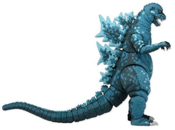 8-Bit Godzilla Video Game Figure From NECA