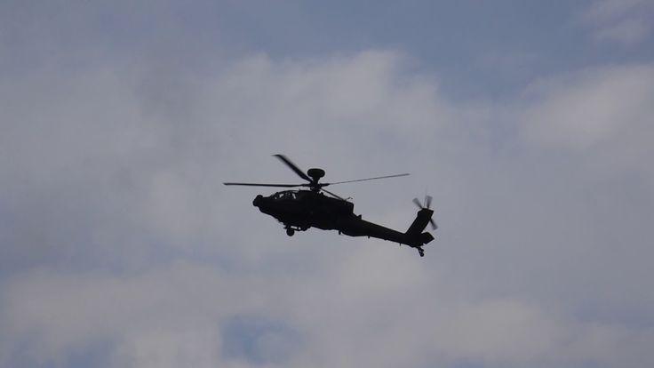 Westland Apache AH.1 & Challenger 2 MBT on SPTA