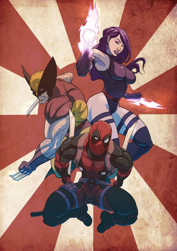 Marvel Ninjas by Juggertha