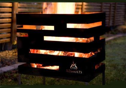 Firebasket Urban from Röshults. Makes the evening magic!