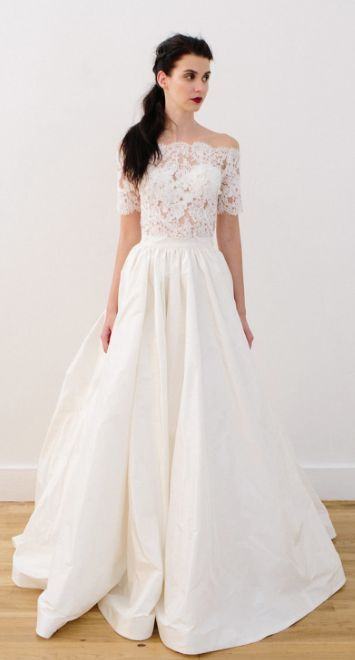 Wedding dress idea; Featured Dress: Lea-Ann Belter