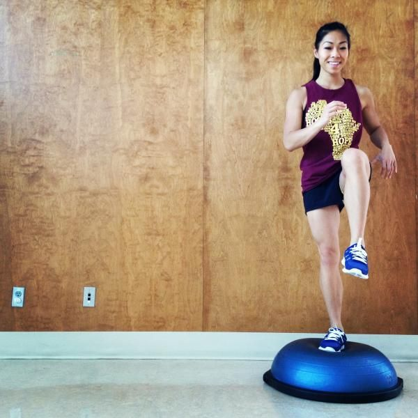 Bosu Ball For Beginners: 12 Best Bosu Ball Exercises Images On Pinterest